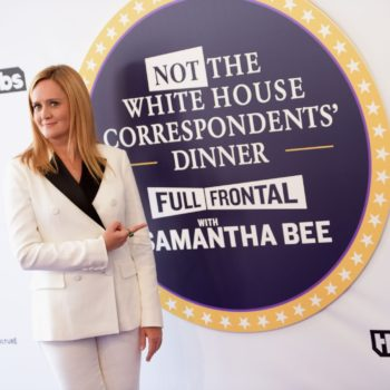 "This is how you can watch Samantha Bee's ""Not the White House Correspondents' Dinner"""