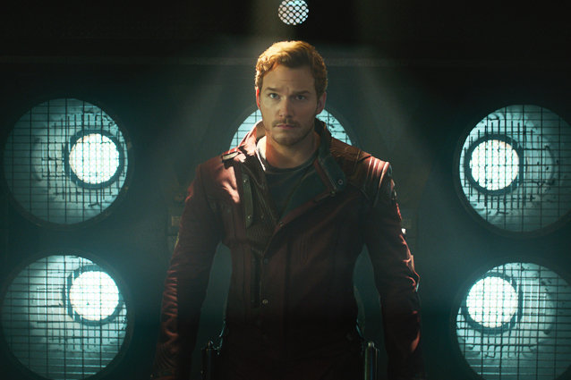 "Chris Pratt is killing us with behind-the-scenes photos from ""Guardians of the Galaxy, Vol 2"""