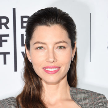 Jessica Biel's vegetable garden basically is its own farmers market stand