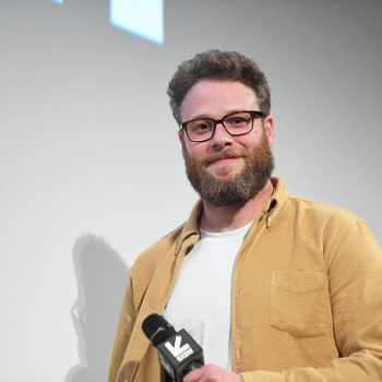 Seth Rogen might be able to see the future, because he's been working on a Fyre Festival-esque movie for months