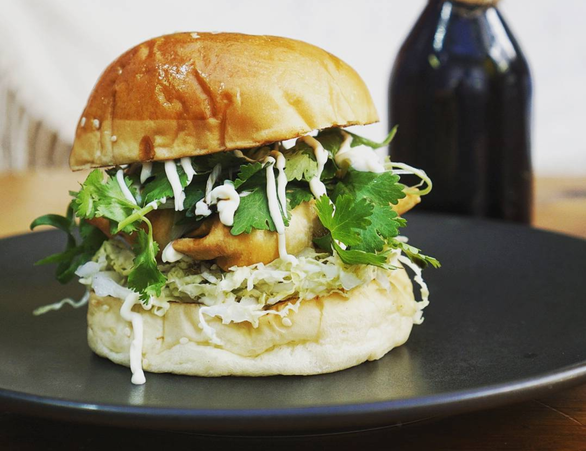 This restaurant put dumplings in a burger, because literally anything is possible