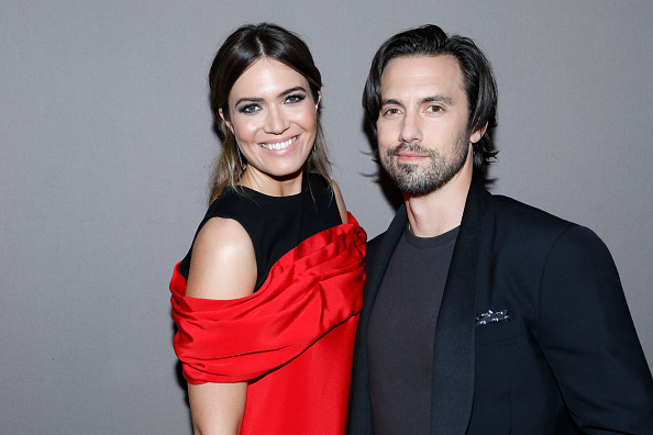 "Mandy Moore and Milo Ventimiglia got matching custom Steelers jerseys in honor of their ""This Is Us"" characters"