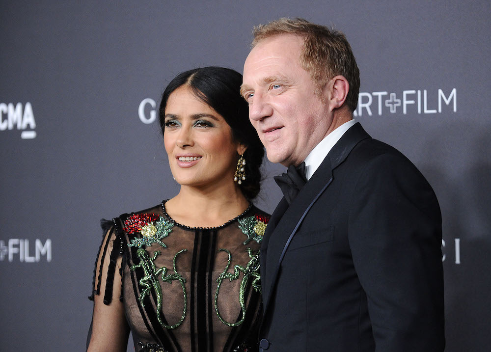 Salma Hayek got in a fight with her husband over his relationship with an app