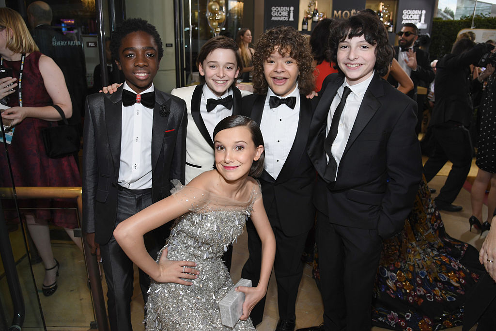 "Millie Bobby Brown says she has weekly sleepovers with this ""Stranger Things"" costar, and FOMO alert"