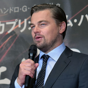 People are obsessed with Leonardo DiCaprio's sign at the Climate March