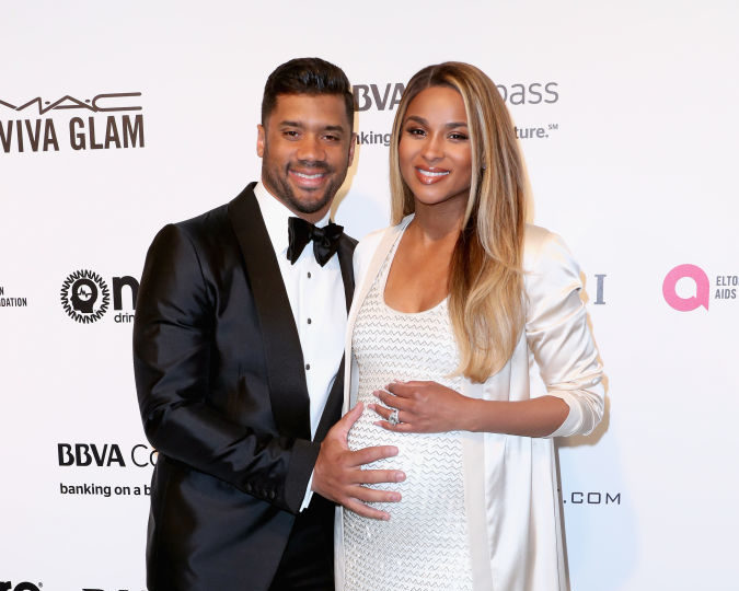 Ciara's black-and-white pregnancy video looks like a classy indie film