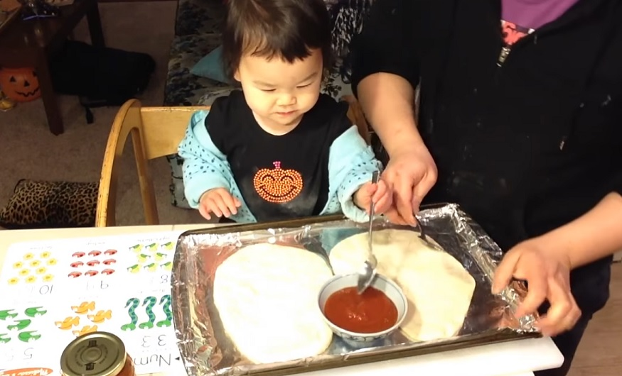 We're obsessed with this toddler's YouTube cooking show