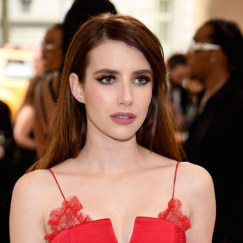 Emma Roberts looks like an IRL Jessica Rabbit in her all-red Met Gala dress