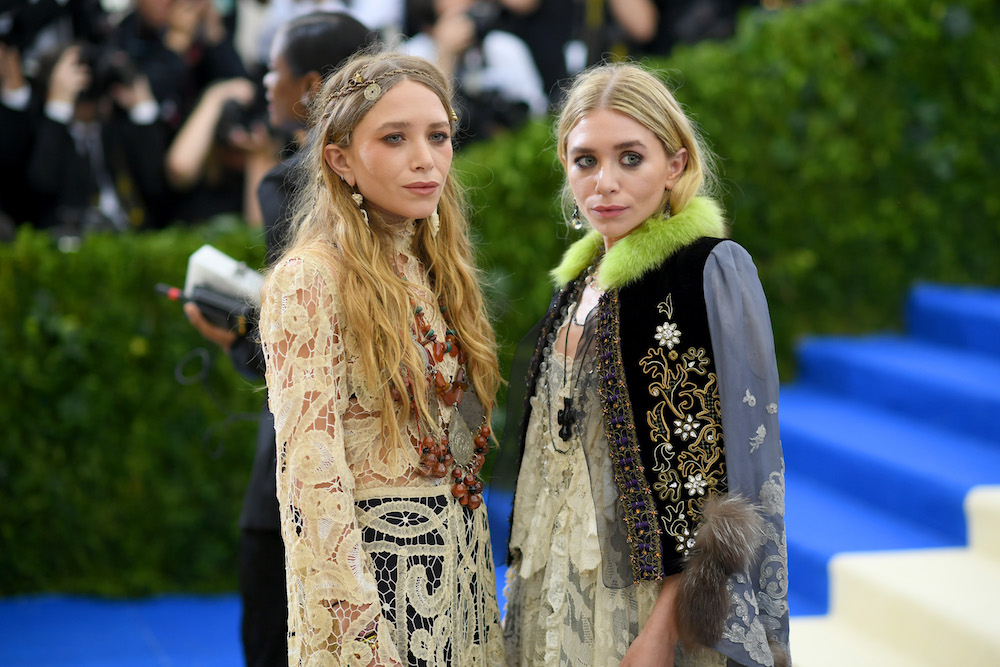 Mary-Kate and Ashley Olsen look like they're going to a Renaissance fair at the Met Gala