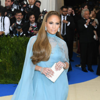 Jennifer Lopez dancing by herself at the Met Gala is weirdly relatable