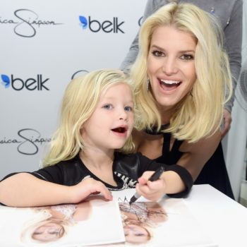 Jessica Simpson's daughter looks so grown up (and just like her) in this birthday party Insta