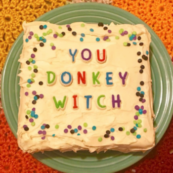 This woman is sending rude comments back to their authors — in cake form