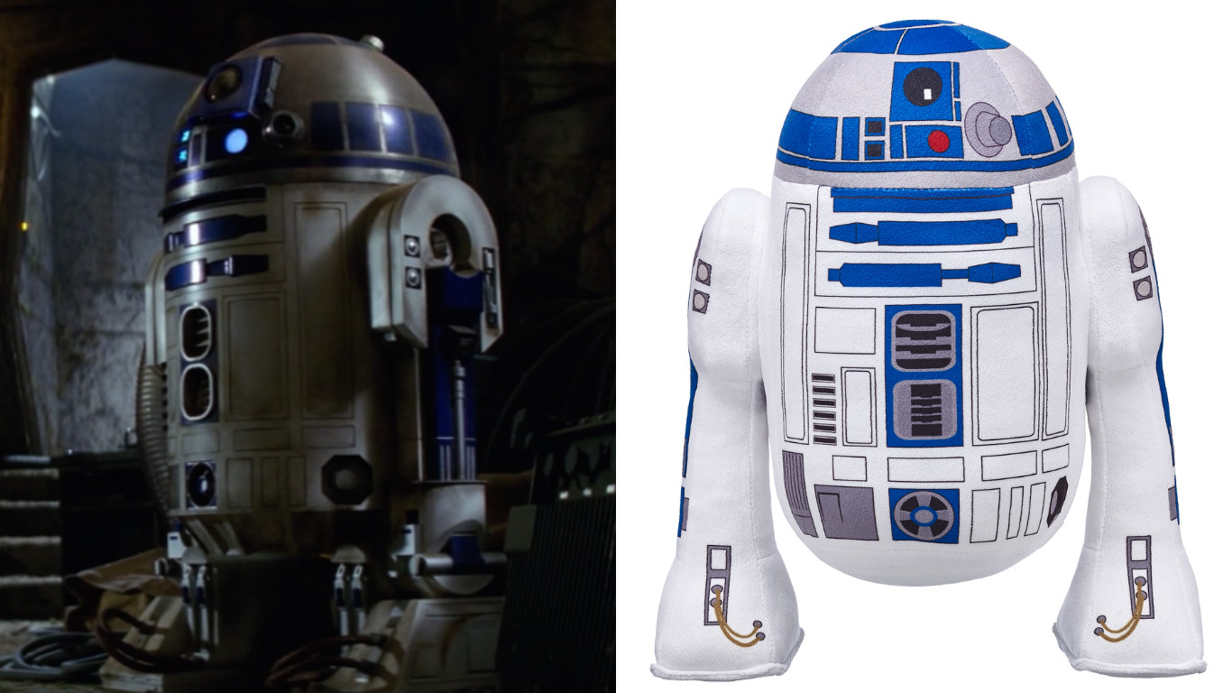 Here's your cuddle buddy for May the 4th: Build-A-Bear's new R2-D2 plush