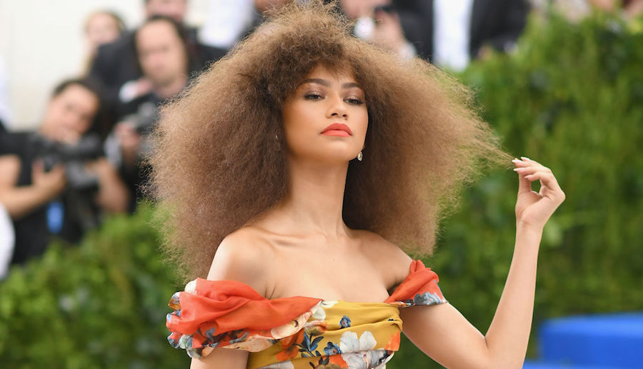 Zendaya singlehandedly made us want to buy a floral suit this spring