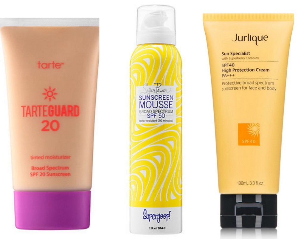 From tinted moisturizer to sunblock mousse, here are 18 sunscreens to try out this summer