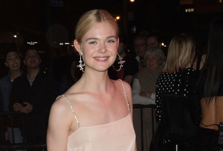 Elle Fanning showed up to the Met Gala after-party in a short unicorn dress