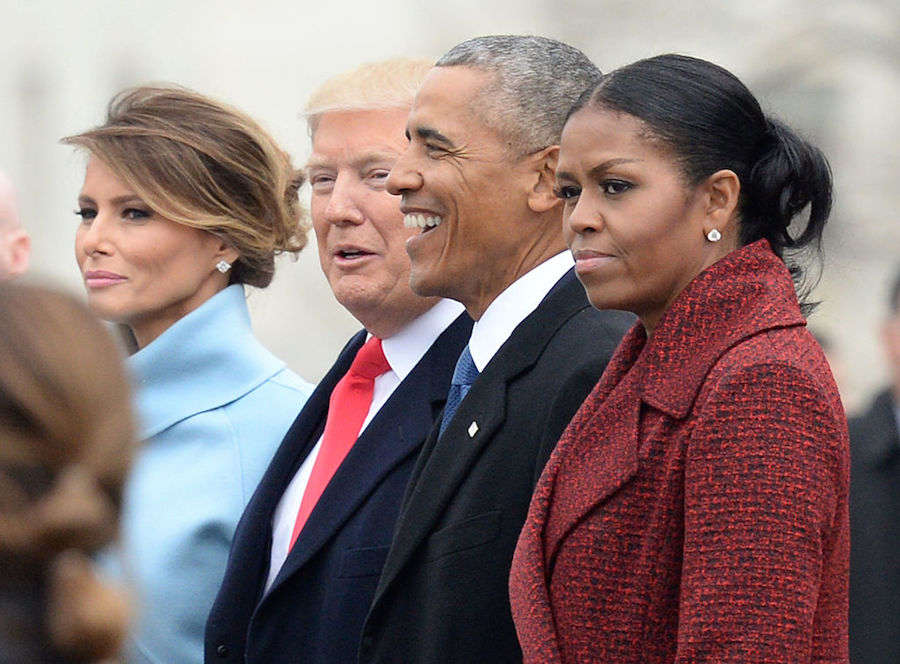 Michelle Obama gives the backstory for her side-eye at Trump's inauguration
