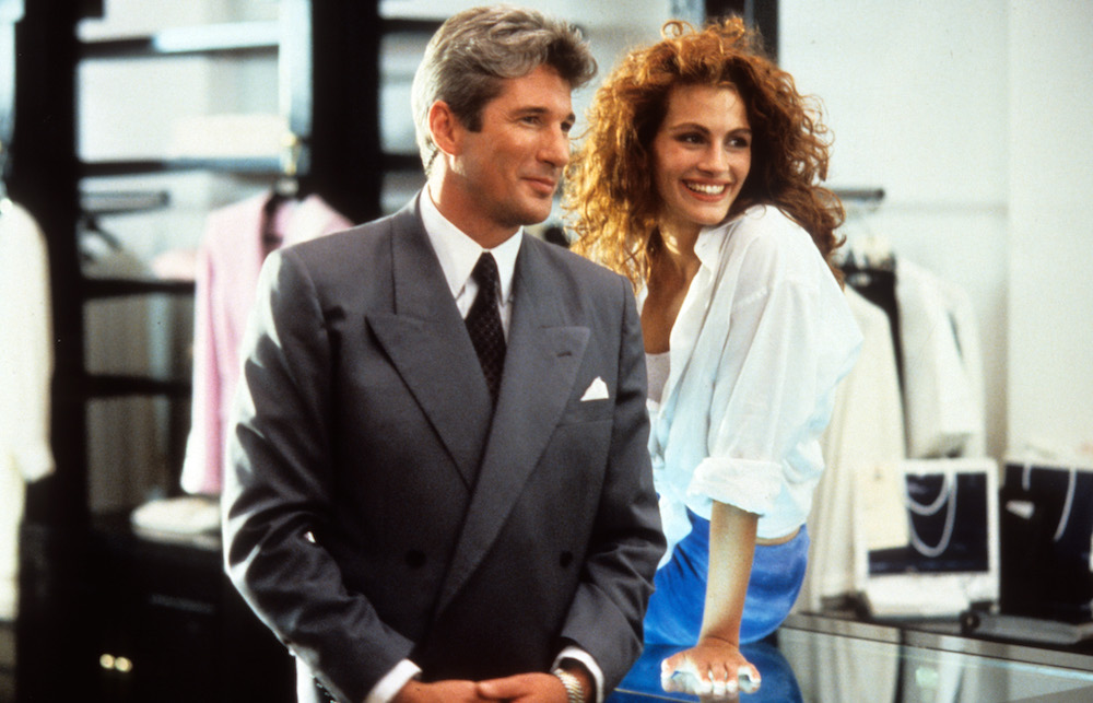 "If you ever wanted to channel Julia Roberts's style in ""Pretty Woman,"" ASOS has the dress for you"