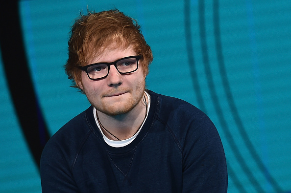 The internet has some feelings about this portrait of Ed Sheeran