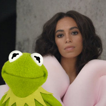 """Someone reinterpreted Solange Knowles' song """"Cranes in the Sky"""" with Kermit the Frog, and it's HILARIOUS"""