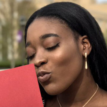This teen didn't get a date to her prom, so she took her Harvard acceptance letter instead