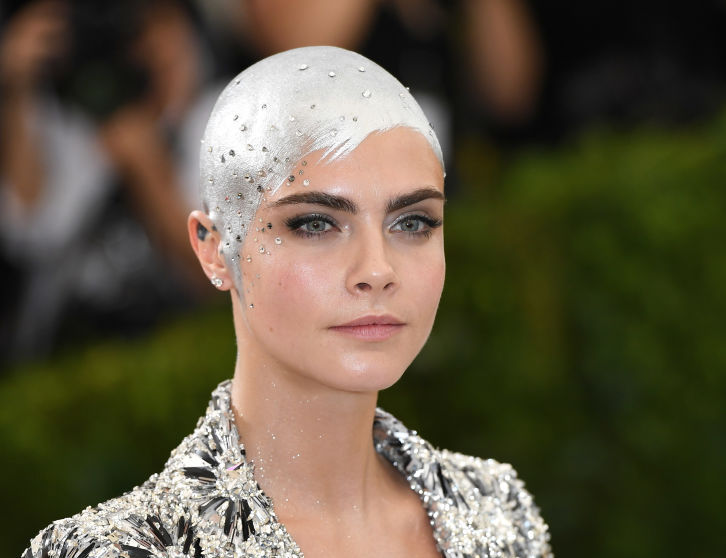 Cara Delevingne opens up about going bald