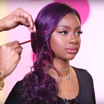 Justine Skye's latest tutorial is giving us day-to-night hair inspiration