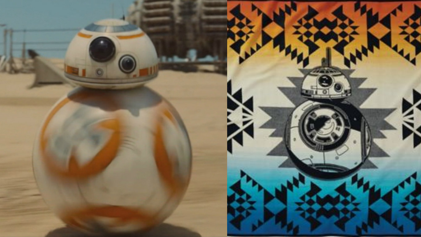 """This is the coolest geometric """"Star Wars"""" collection ever, and we want it all"""