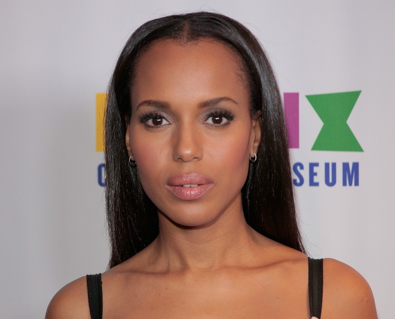 Kerry Washington channeled Beetlejuice on the red carpet, and the result was drop-dead gorgeous