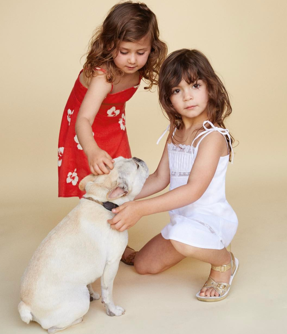 Reformation is designing kids' clothes now