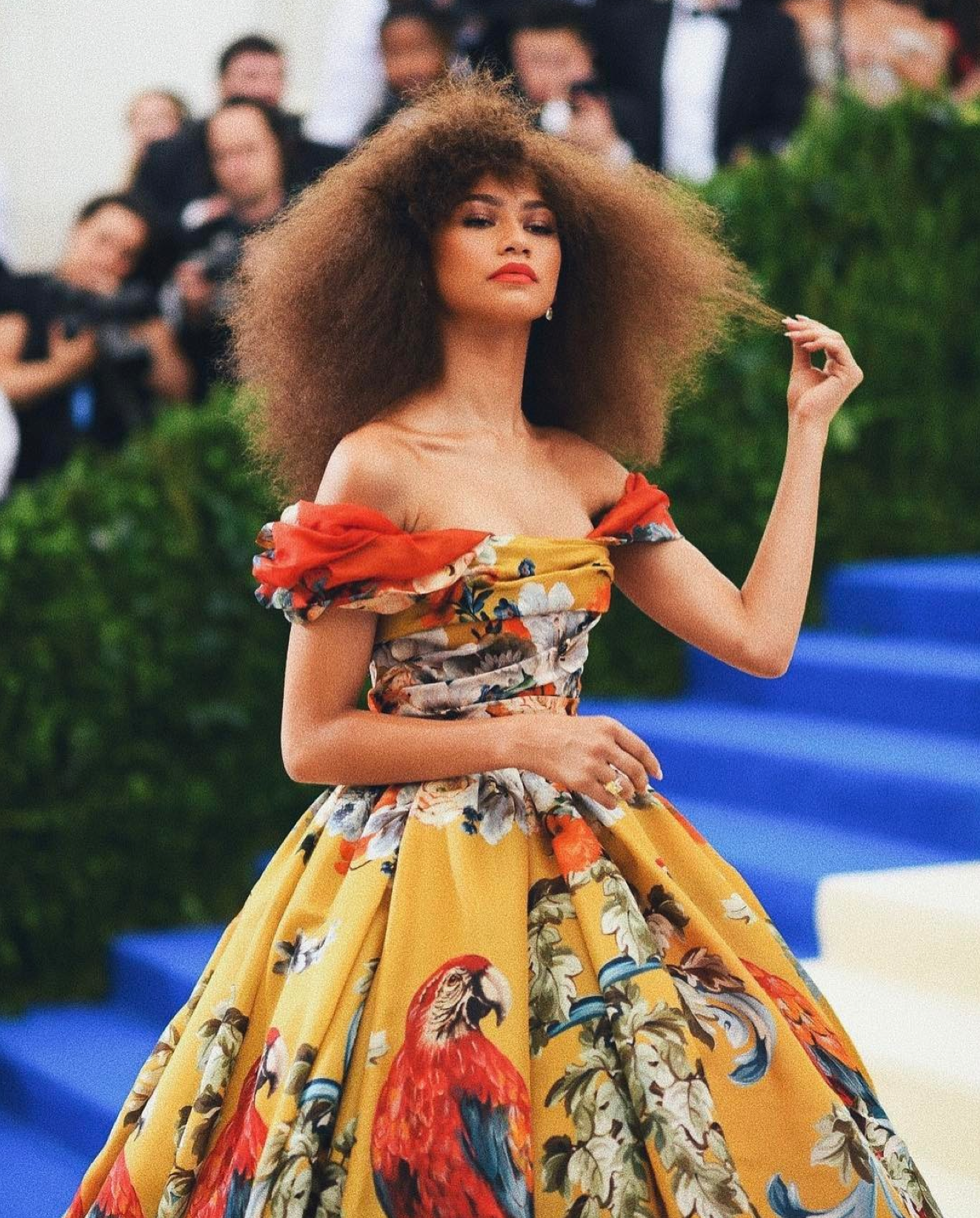 Zendaya had all the feels after Rihanna shouted out her Met Gala look