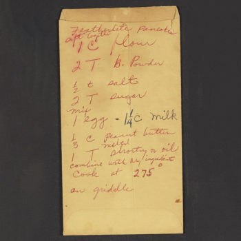 Rosa Parks' recently-unearthed pancake recipe calls for an unexpected ingredient