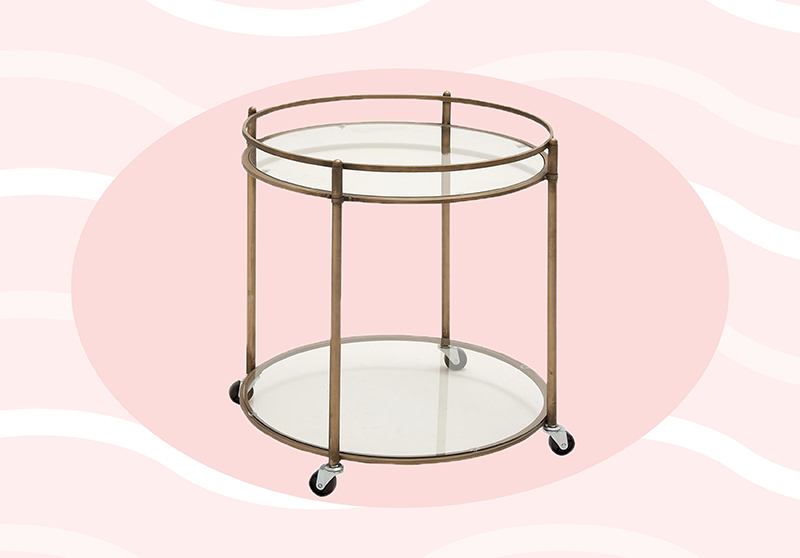 These 11 bar carts are under $200 — so you can spend your money stocking them instead