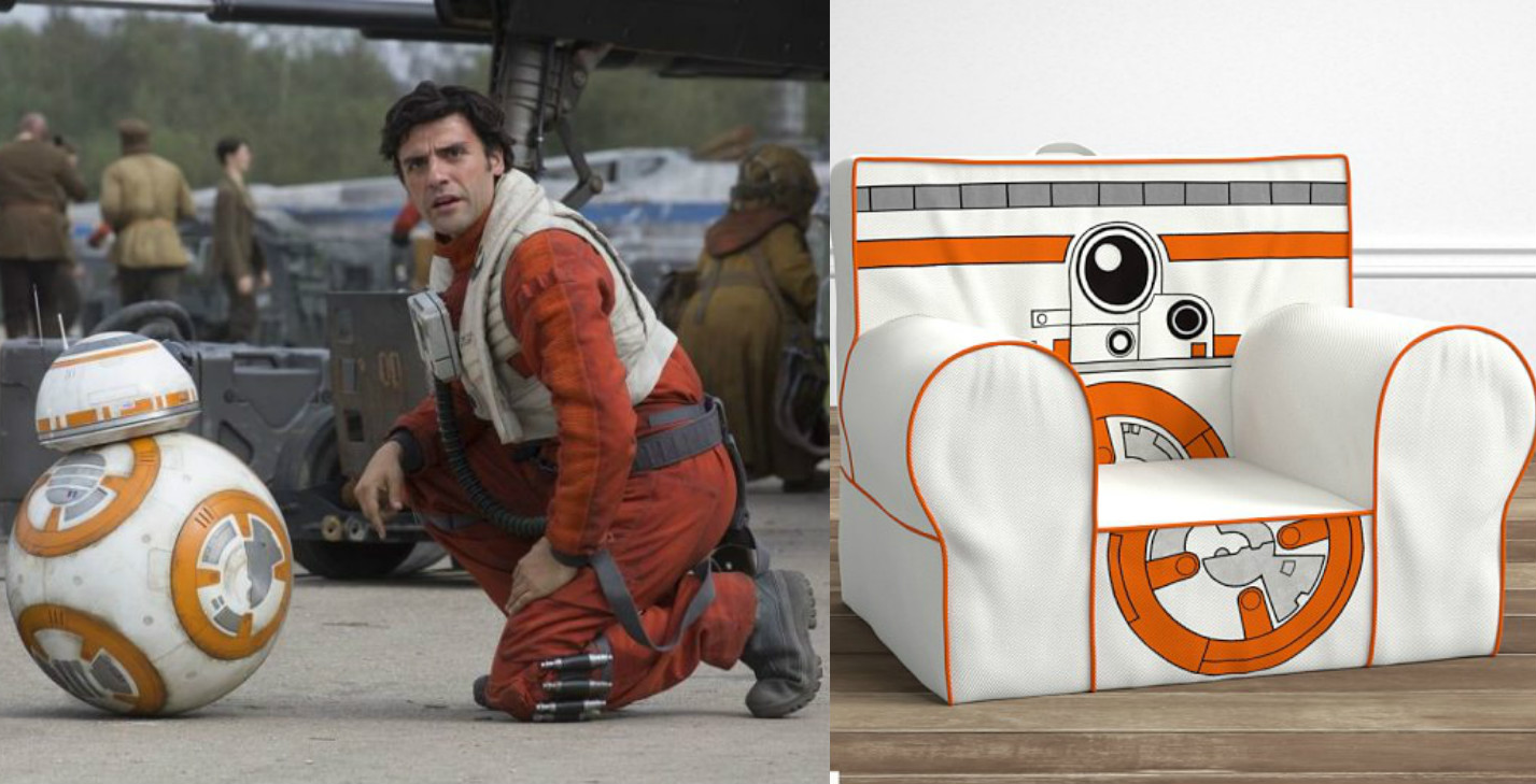 We don't care that we're too big for this BB-8 chair, we're buying it anyway