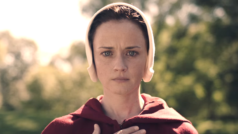 "Alexis Bledel revealed how motherhood influenced her decision to be in ""The Handmaid's Tale"""