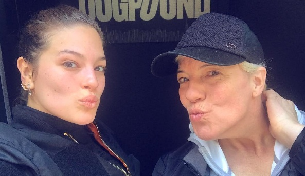 Ashley Graham's mom has the best attitude about cellulite
