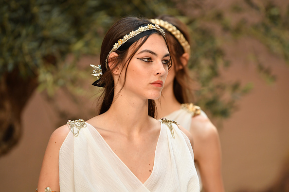 Chanel has declared that Grecian goddess hair is *the* trend for summer beauty
