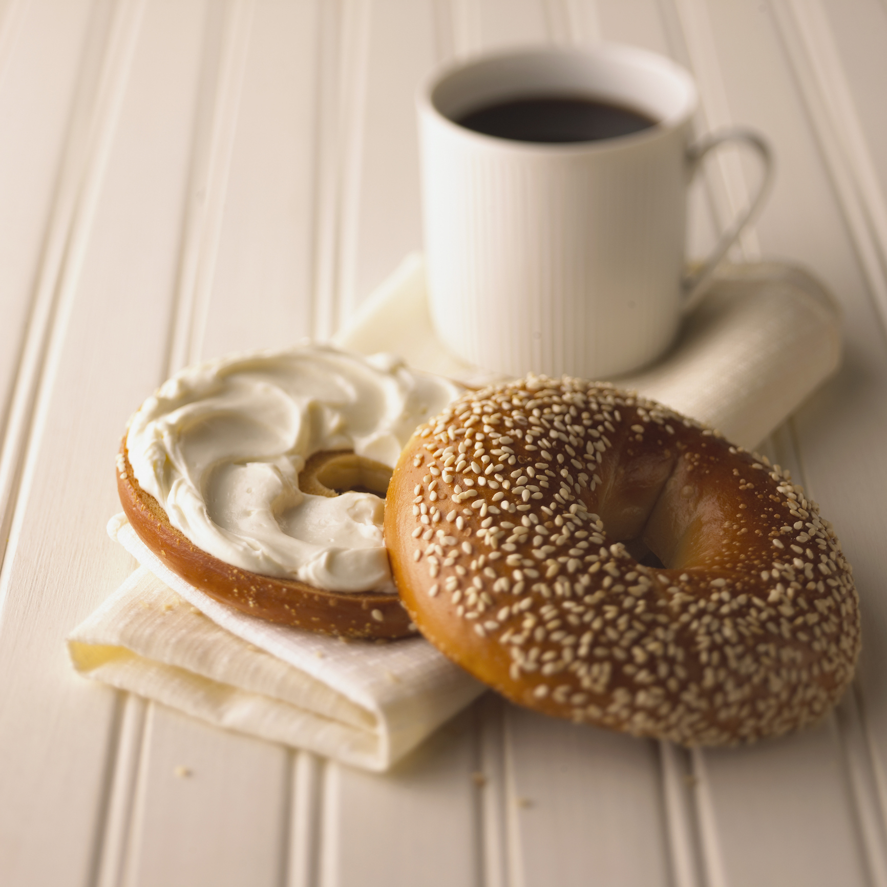 Coffee and bagels just got mashed up in the most wonderful and surprising way