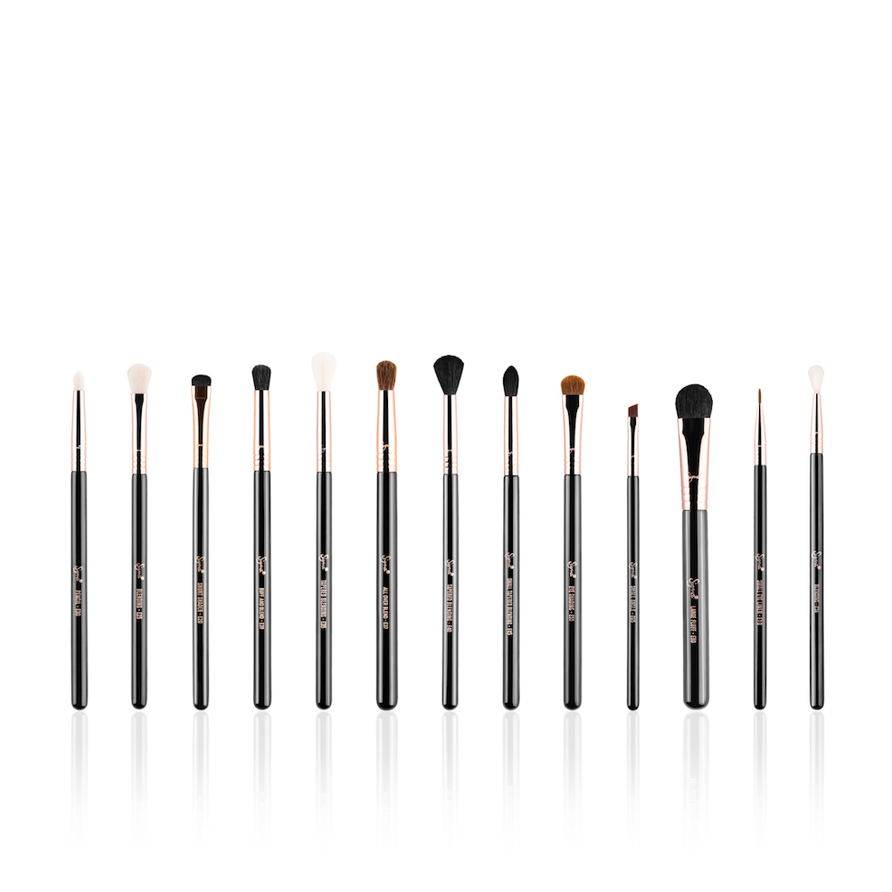 Thanks to Sigma Beauty's new rose gold brush set, our eye makeup is going to look flawless