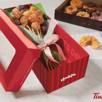 Tim Hortons is selling doughnut bouquets for Mother's Day, and bless