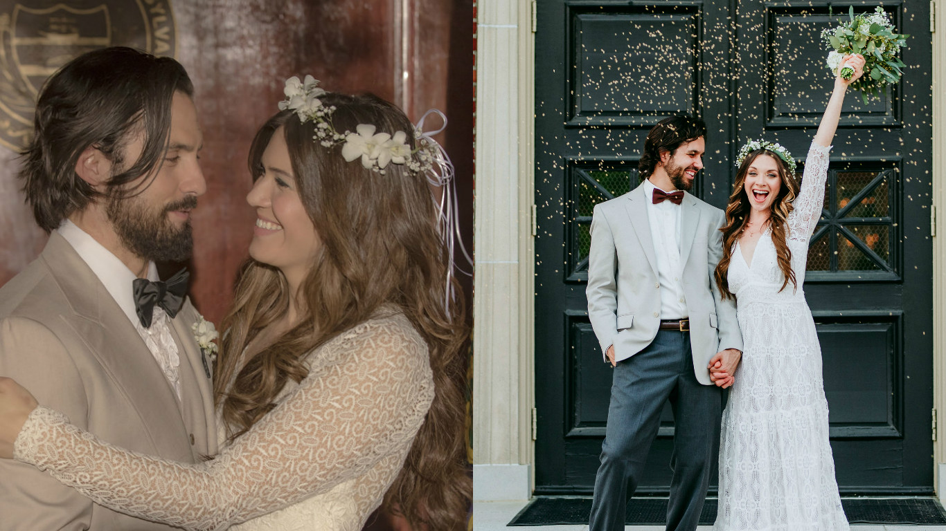 "This couple had a ""This Is Us"" themed wedding shoot, and look at that, we're crying again"