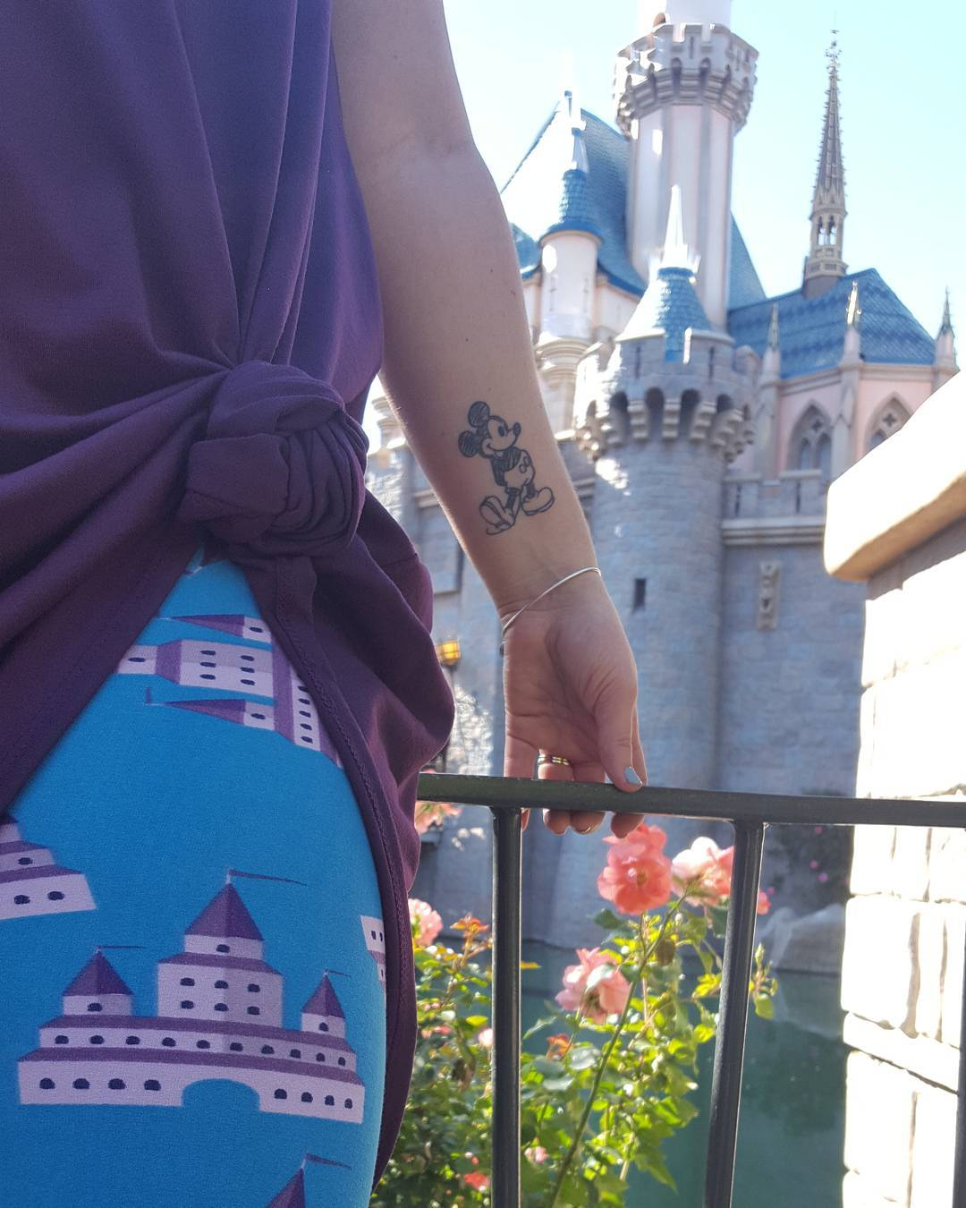 These Disney-inspired leggings are having a moment Mickey Mouse would approve of