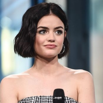 """Here's how """"Pretty Little Liars"""" star Lucy Hale beat cystic acne"""
