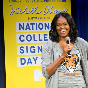 Michelle Obama's advice to high school seniors is so inspiring