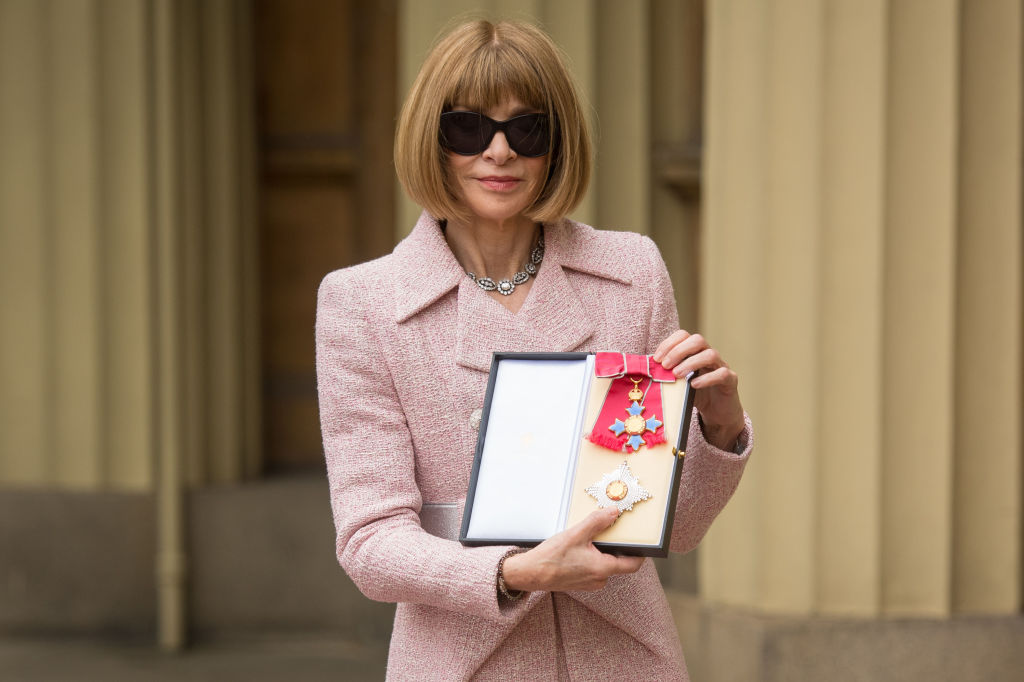 The Queen just gave fashion icon Anna Wintour an official royal title