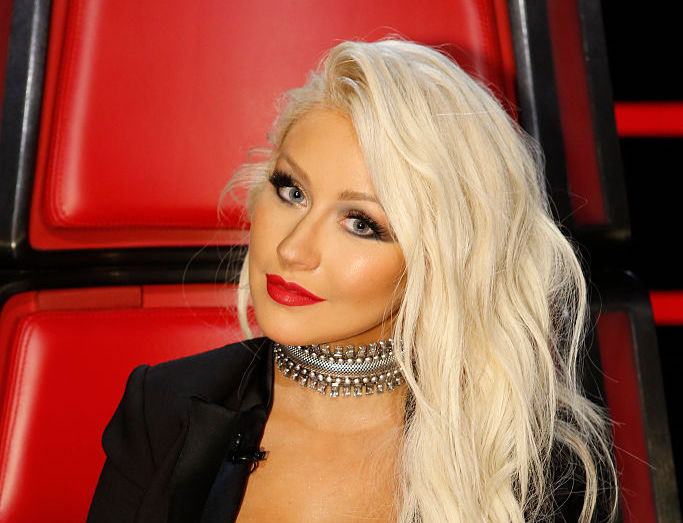 Christina Aguilera's montage of personal moments gives a behind-the-scenes look into her life