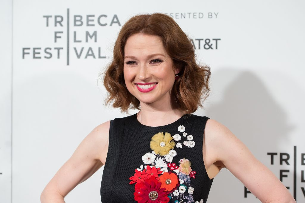 "Ellie Kemper perfectly matched the red carpet at this ""Unbreakable Kimmy Schmidt"" event"