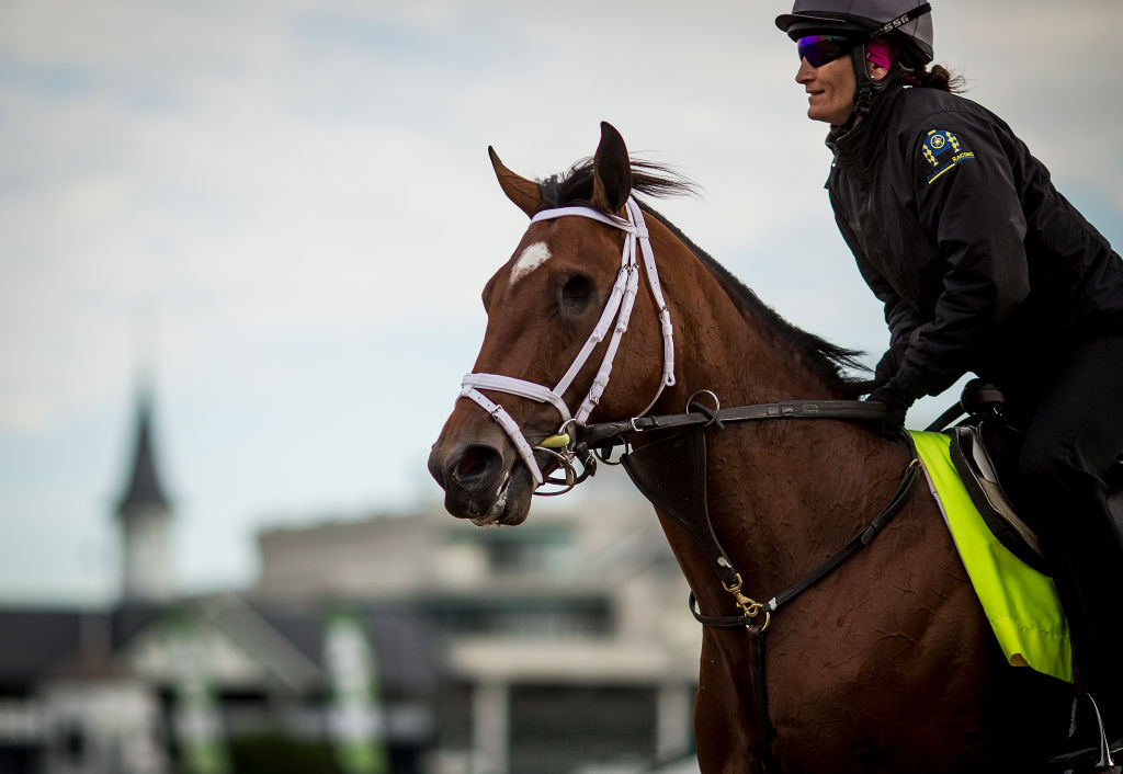 People are losing it over this one-eyed horse that raced in the Kentucky Derby