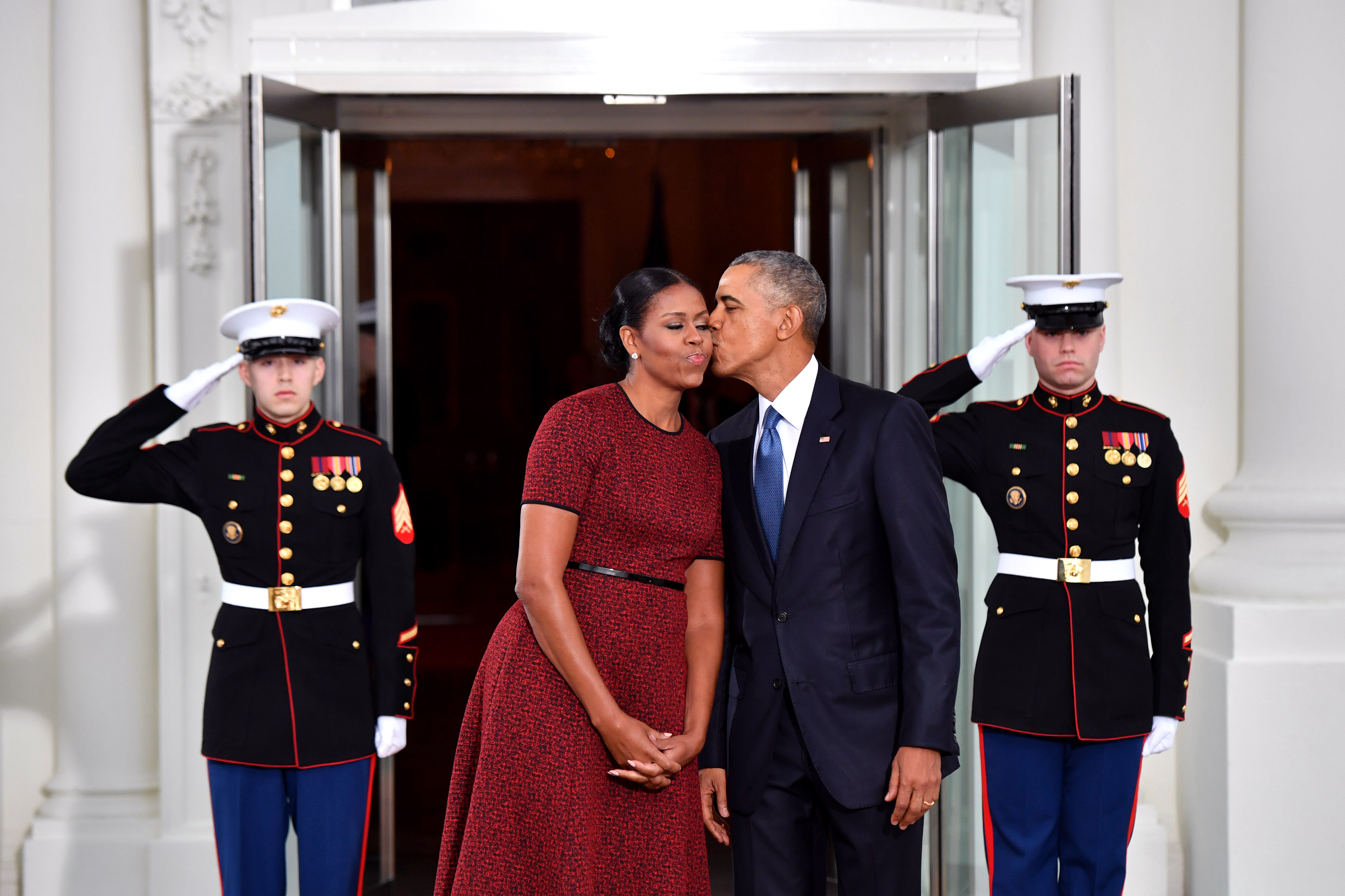 Barack Obama thanking Michelle for staying with him is making us laugh-cry