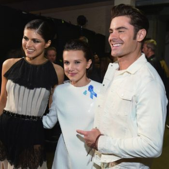 """Zac Efron fanboyed out over meeting the """"Stranger Things"""" kids, and we get it"""